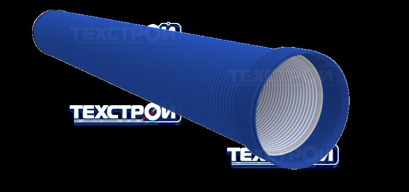 двухслойные гофрированные трубы техстрой